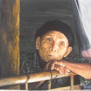 I would like to return to my native land, Burma, before I die